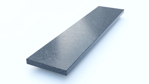 Steenbok Natuursteen Vensterbank Graniet Steel Grey (grijs, gezoet)