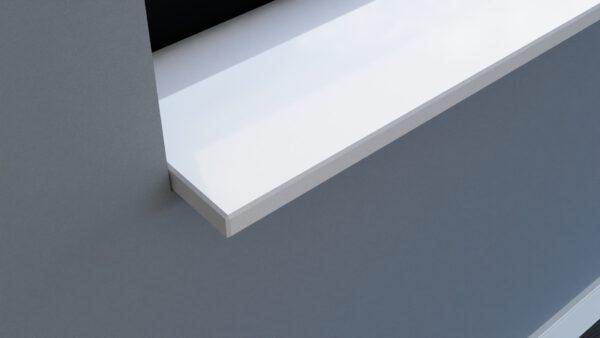 steenbok-natuursteen-Vensterbank-Composiet-Silk-White-wit-gepolijst-zijaanzicht