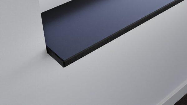 steenbok-natuursteen-Vensterbank-Graniet-Fine-Basalt-antraciet-gezoet-zijaanzicht