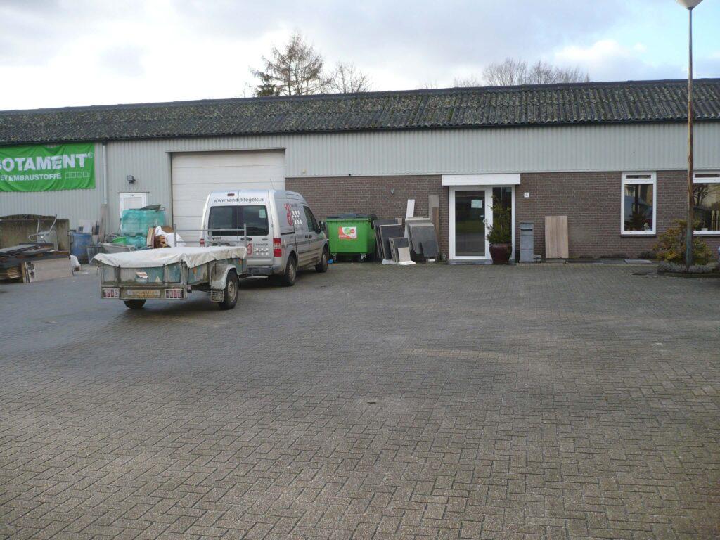 Steenbok Natuursteen Afhaalpunt Tegeltechniek J. van Dijk
