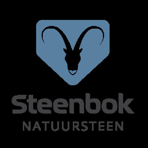 Steenbok Natuursteen logo