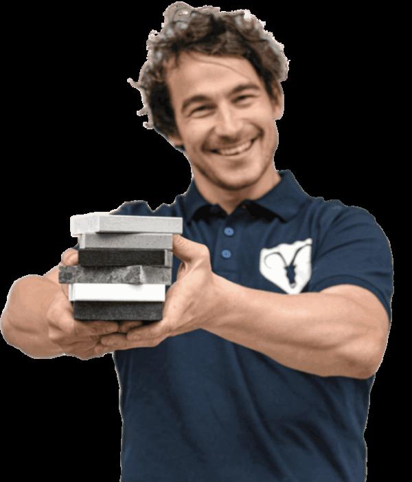 steenbok-natuursteen-klantenservice-proefstuk
