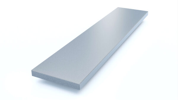 Steenbok Natuursteen Vensterbank Composiet Dark Iron (grijs, gepolijst)