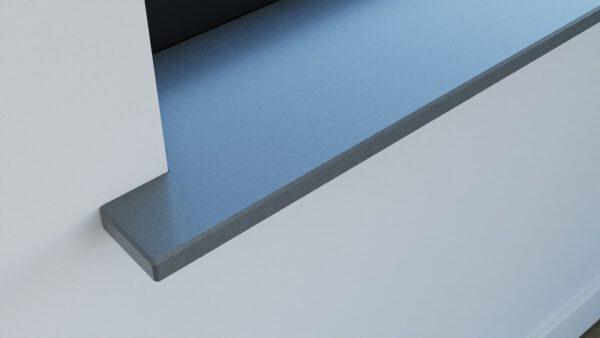 steenbok-natuursteen-Vensterbank-Composiet-Dark-Iron-grijs-gepolijst-closeup