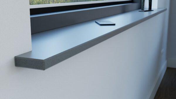 steenbok-natuursteen-Vensterbank-Composiet-Dark-Iron-grijs-gepolijst-sfeerbeeld