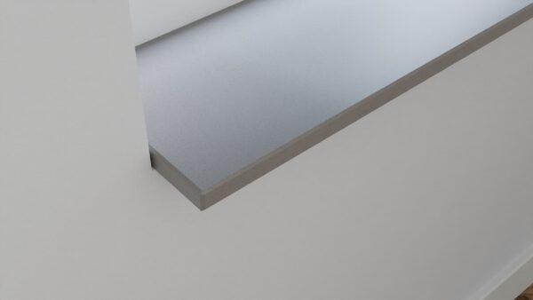 steenbok-natuursteen-Vensterbank-Composiet-Light-Smoke-grijs-gezoet-zijaanzicht